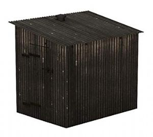 Scenecraft 47-558 Corrugated Metal Shed [NOT YET RELEASED]